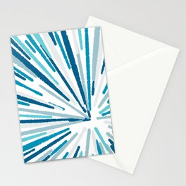 Abstract explosion pattern Stationery Cards