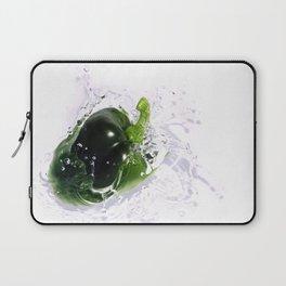 Green Pepper Splash Laptop Sleeve