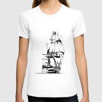 sail T-shirts featuring Sail by Roberto J. Viacava