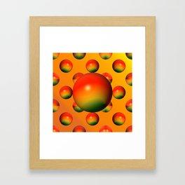 Bowls like apples ... Framed Art Print