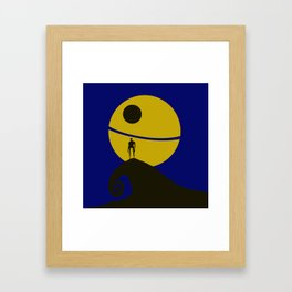 K2-SO Halloween Framed Art Print