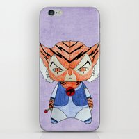 thundercats iPhone & iPod Skins featuring A Boy - Tygra (Thundercats) by Christophe Chiozzi