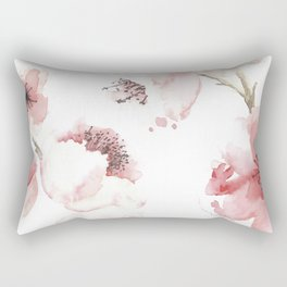 Under the Cherry Blossom Tree Rectangular Pillow