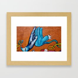 High Five Framed Art Print