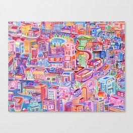 Big City Feeling Canvas Print