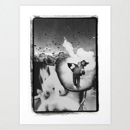 Relentless Recklessness 1 Art Print