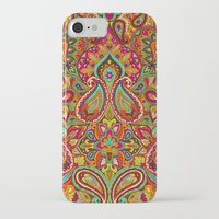 paisley iPhone & iPod Cases featuring Paisley by Aimee St Hill