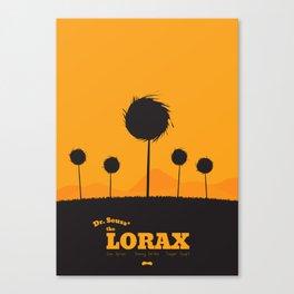 Dr. Seuss - The Lorax : Minimal poster Canvas Print