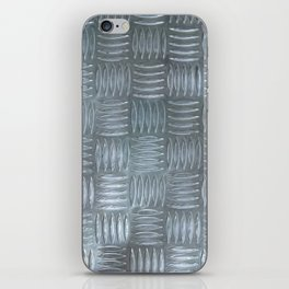 Aluminum Textured iPhone Skin