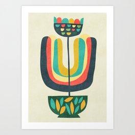 Potted Plant 3 Art Print