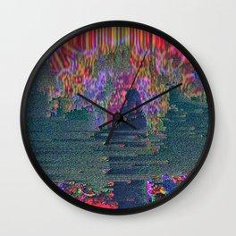 Ritual Glitch Wall Clock
