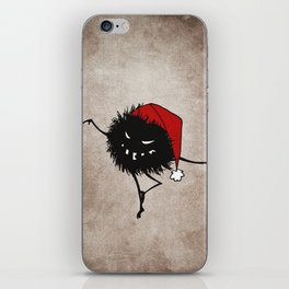 Dark Evil Christmas Bug iPhone Skin