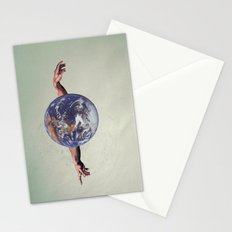 the world holds no limits  Stationery Cards