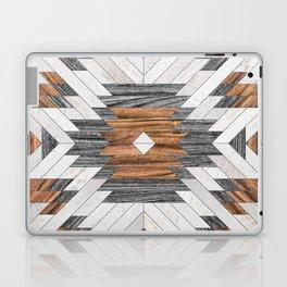 Urban Tribal Pattern No.8 - Aztec - Wood Laptop & iPad Skin