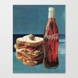 lunch break Canvas Print