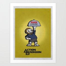 Chef Bronson Art Print