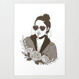 Darlene Art Print