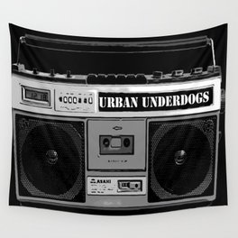 Urban Underdogs Boom Box Wall Tapestry
