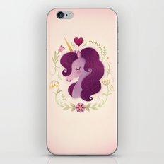 Unicorn Love iPhone & iPod Skin