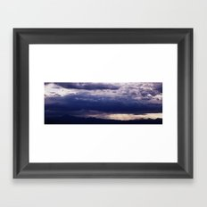 Shine Through Framed Art Print