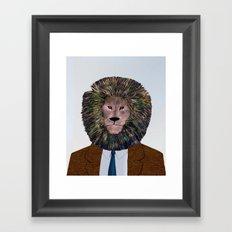 Uncle Leo's Portrait Framed Art Print