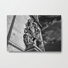 Le Triomphe Metal Print