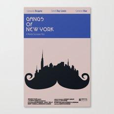 Gangs of New York Minamalist Canvas Print