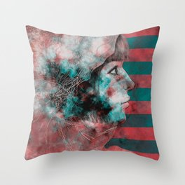 Wonder Into The Future Throw Pillow