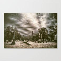 Mt.Olivet Cemetery / Nashville, Tn. / Infrared Edit  Canvas Print