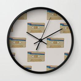 Taped Wall Clock