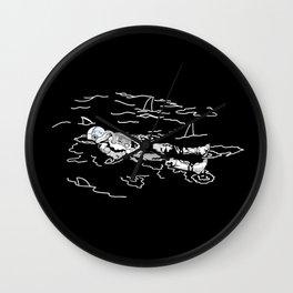 Space Swim Wall Clock