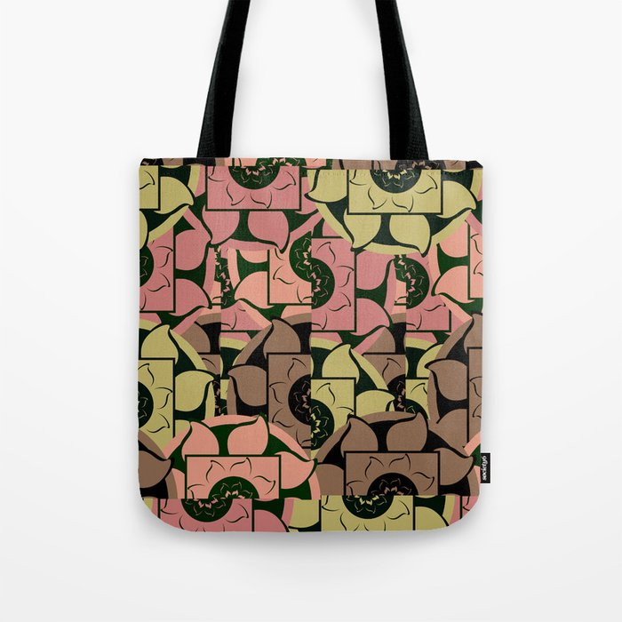 Floral pieces Tote Bag