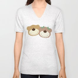 WE♥BEARS Unisex V-Neck