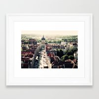 poland Framed Art Prints featuring Gdansk, Poland by Erik Witsoe Photography
