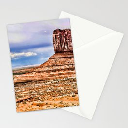 4k Monument Valley HDR desert american landmarks Navajo Nation Colorado Plateau Utah America Stationery Cards
