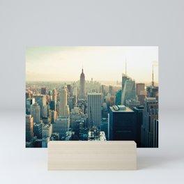 New York City Skyline Mini Art Print