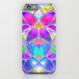 Floral Fractal Art G307 iPhone Case