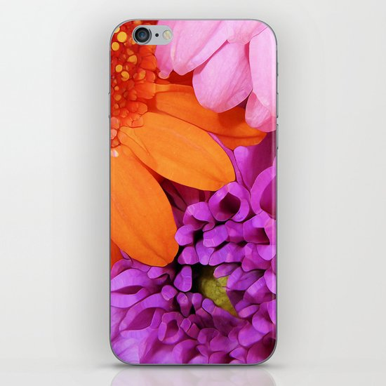 FLOWERS ARE HOT (they'll brighten any day!) iPhone & iPod Skin
