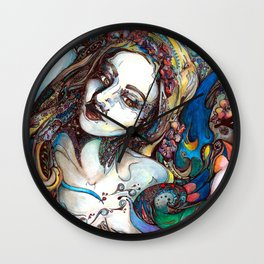 Synesthesia Wall Clock