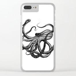 Tentacular Clear iPhone Case