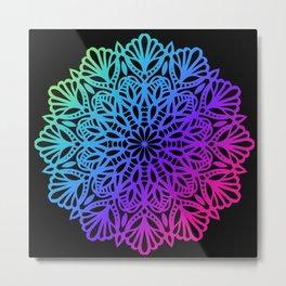 Premium Mandala Ornamental Design Metal Print