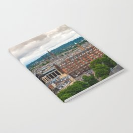 Panoramic of Edinburgh Notebook