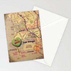 All Mine San Diego Stationery Cards