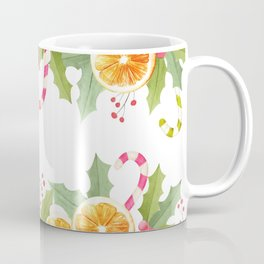 Orange Spice Christmas Greetings Coffee Mug