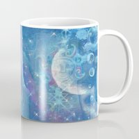 celestial Mugs featuring Celestial by Geni