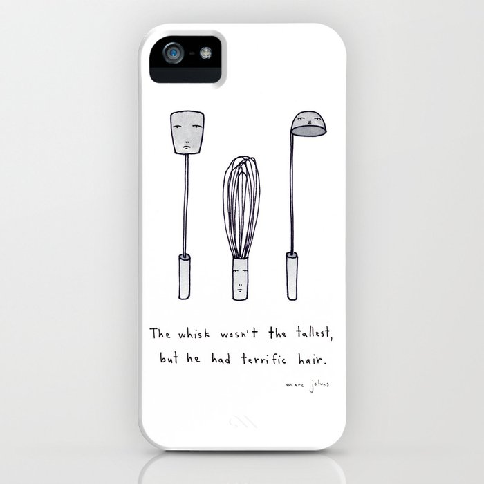 the whisk wasn't the tallest iPhone Case
