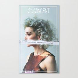 St. Vincent - Annie Clark Canvas Print