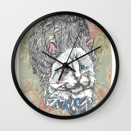 Meowrie Antoinette Wall Clock