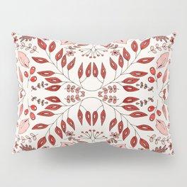 Floral Mix – Red Pillow Sham