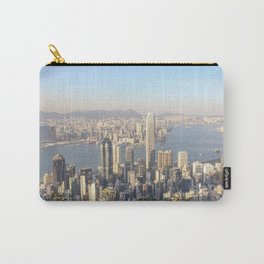 Breathtaking Hong Kong City View from Victoria Peak | Travel Photography Carry-All Pouch